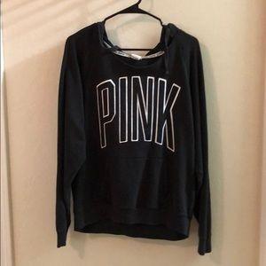 Pullover black VS Pink hoodie